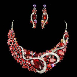 Heidi Crystal Necklace Set