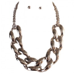 Dahnya Chain Link Necklace Set