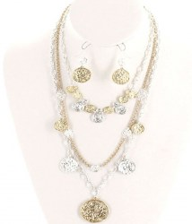 Maisey Multi Strand Necklace Set