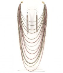 Maxine Multi Strand Necklace Set