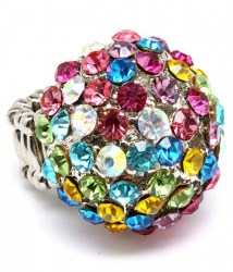 Lily Crystal Ring
