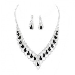 Catalina Rhinestone Necklace Set
