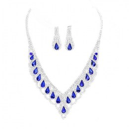 Antonella Rhinestone Necklace Set