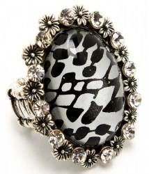Ellie Print Ring