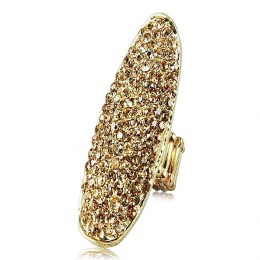 Heather Rhinestone Ring