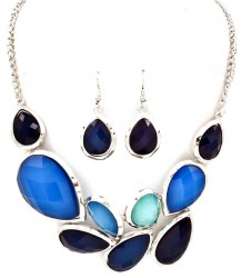 Petrice Stone Necklace Set