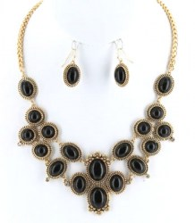 Cecilia Stone Necklace Set