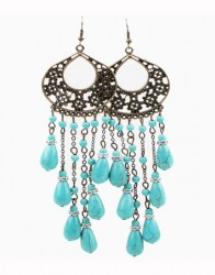 Brittney Turquoise Earrings
