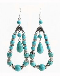 Monica Turquoise Earrings