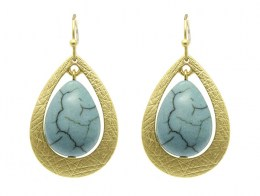 Tracy Turquoise Earrings