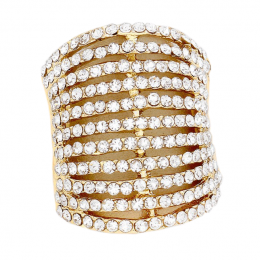 Destanee Rhinestone Ring