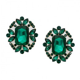 Abelina Crystal Post Earrings