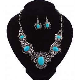Ellie Turquoise Necklace Set