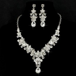 Jezebel Crystal Necklace Set