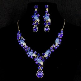 Latifah Crystal Necklace Set