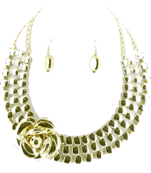 Flora Collar Necklace Set