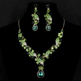 Kandace Crystal Necklace Set