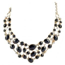 Prue Black Beauty Fashion Necklace 1