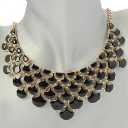Yasmine Black Beauty Fashion Necklace 3