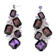 Charee Crystal Earrings