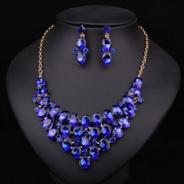 Regina Crystal Necklace Set
