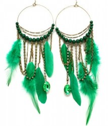 EFH019 Feather Earrings