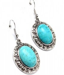 Alicia Turquoise Earrings