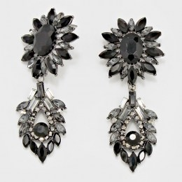 Volante Crystal Earrings