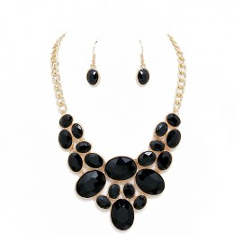 Ida Crystal Necklace Set