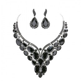 Adalyn Crystal Necklace Set.