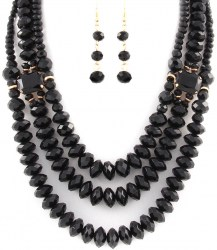 Hailey Bead Necklace Set