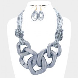 Aria Chain Link Necklace Set III