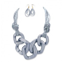 Aria Chain Link Necklace Set