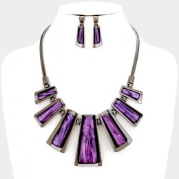 Liv Stone Necklace Set III