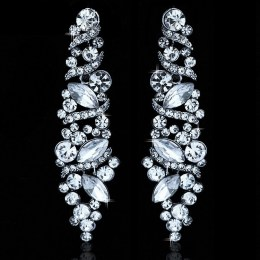 Gabrielle Rhinestone Earrings