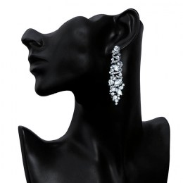 Gabrielle Rhinestone Earrings II