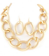 Denise Chain Link Necklace Set