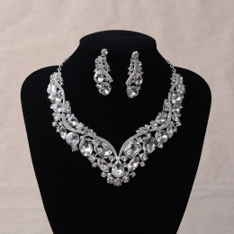 Serena Crystal Necklace Set
