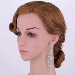 Amitee Rhinestone Earrings II