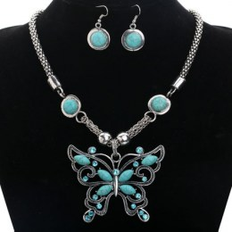 Lydie Turquoise Necklace Set.2