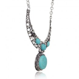 Laverna Turquoise Necklace III