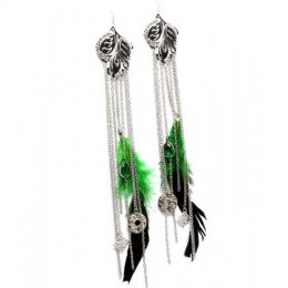 EFH016 Feather Earrings.