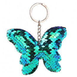 Butterfly Keyring Green