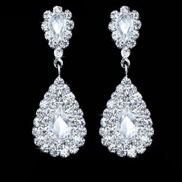 Genevieve Rhinestone Earrings