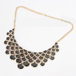 Yasmine Black Beauty Fashion Necklace 2