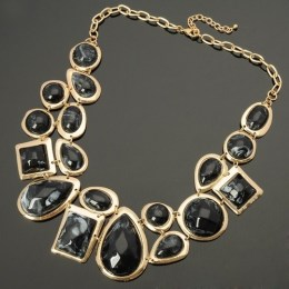 Juno Black Beauty Fashion Necklace 2