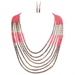 Haylee Bead Necklace Set