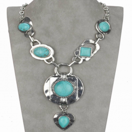 Laurina Turquoise Necklace. II