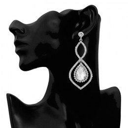 Olympia Rhinestone Earrings II