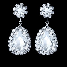 Gratiana Rhinestone Earrings